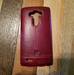 Pierre Cardin leather LG G4 case